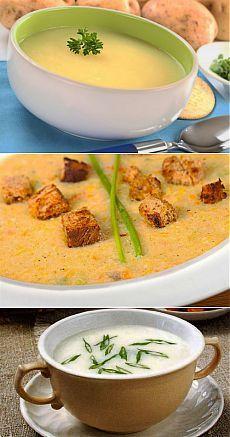 Картофельные супы-: 4 рецепта интересного блюда / Простые рецепты