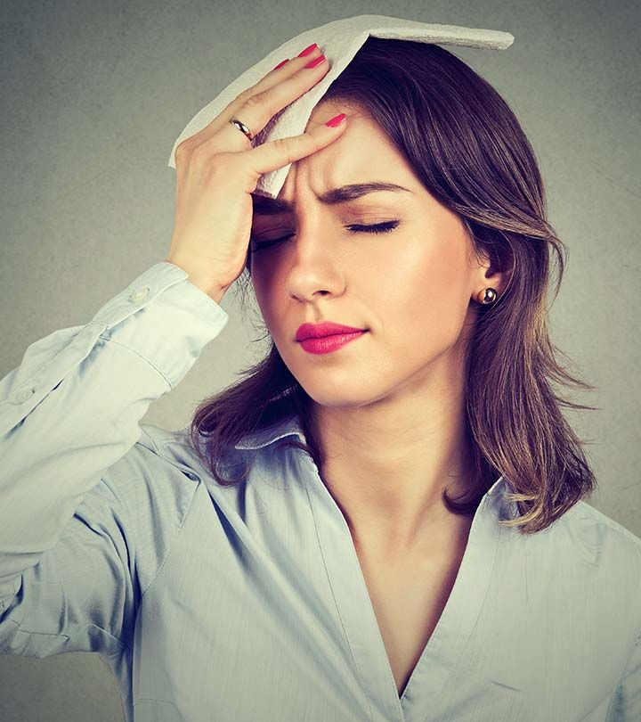 How To Get Rid Of Hot Flashes Due To Anxiety