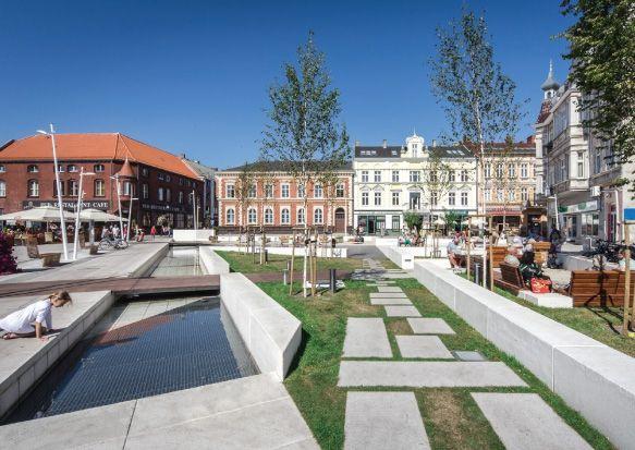 Nowe spojrzenie na meble miejskie   Inspirowani Naturą I design concrete public furniture terra group