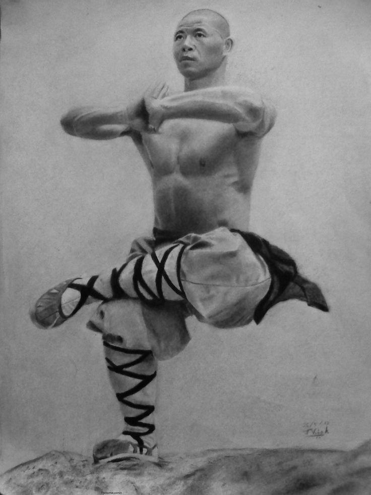 Shaolin Monk by Vishvesh99.deviantart.com on @deviantART