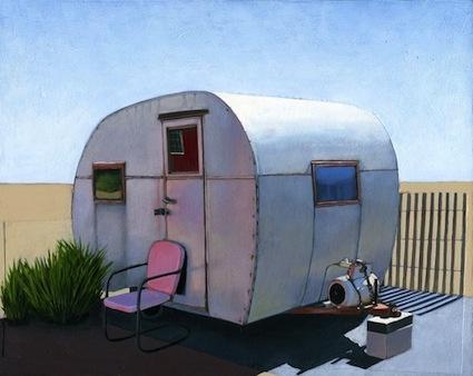 Leah Giberson: Vintage Trailers, Leahgiberson, Vintage Caravan, Leah Giberson, Art, Travel Tips, The Simple Life, Desert Campers, Vintage Campers