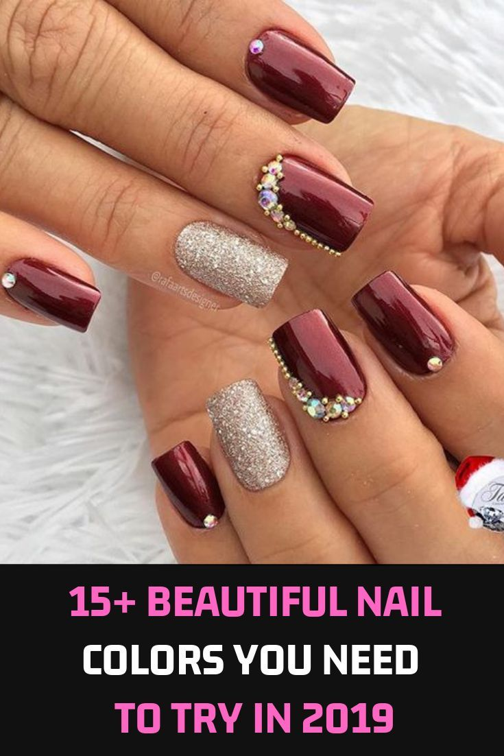The   Fall Winter Nail Trends Are Packed With Bold