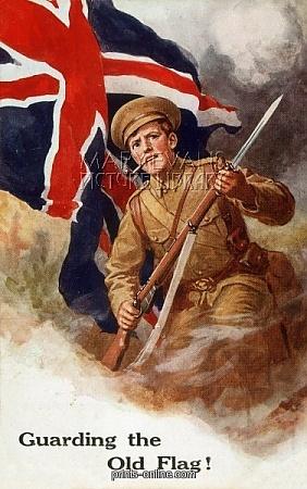 WW1 BRITISH POSTER.   JAN16
