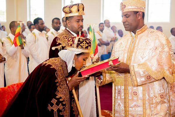 Ethiopian Christian Wedding