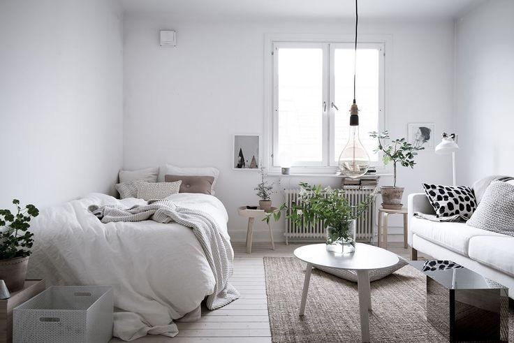 Fresh small living space - via cocolapinedesign.com