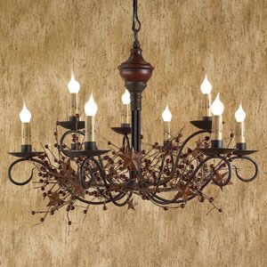 Country chandelier  <3