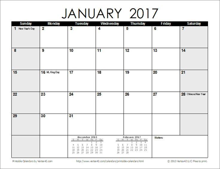 Free Printable Calendar - Printable Monthly Calendars ...