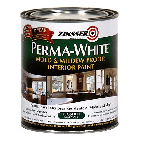 Perma White mold resistant paint...mdb