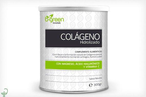 El #colágenohidrolizado #b-green es un #complementoalimenticio que contribuye a la formación natural de #colágeno para el funcionamiento normal del cartílago, huesos y piel. http://www.parafarmaciaporinternet.com/colageno-hidrolizado-b-green.html