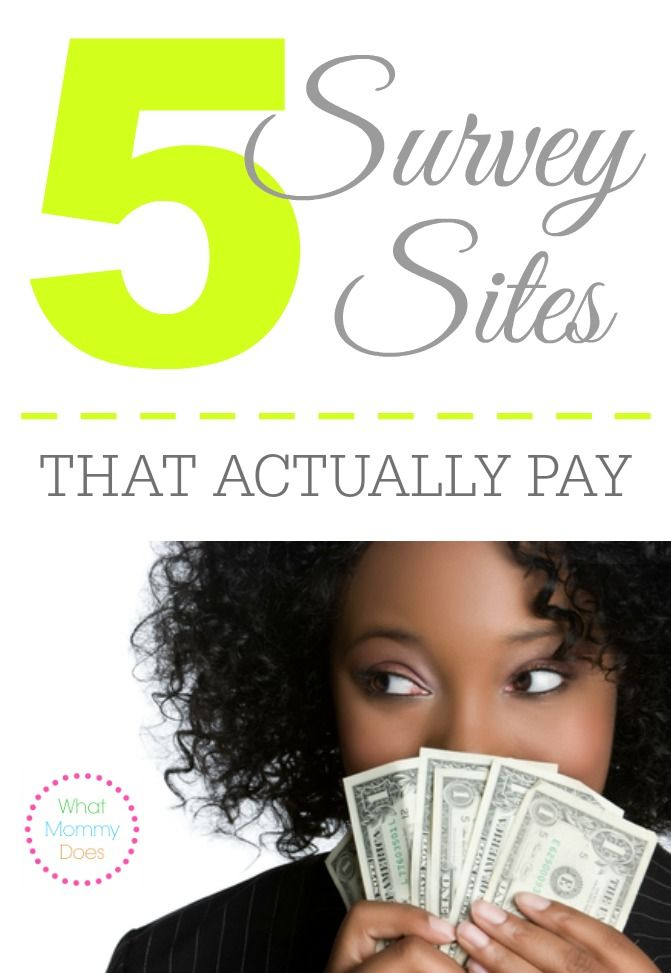Looking for survey sites that actually pay you? Here are my recommendations.