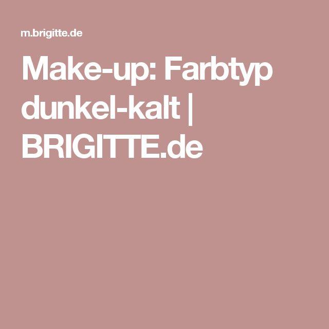 Make-up: Farbtyp dunkel-kalt | BRIGITTE.de