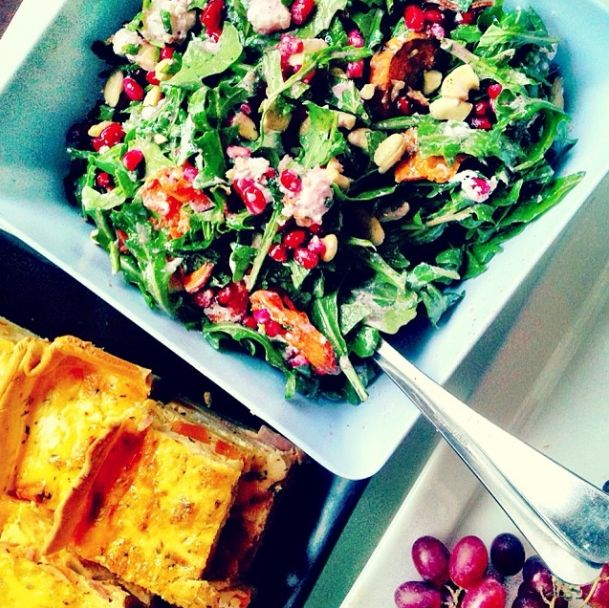 We have just heard the weather man is predicting a 35 degree Christmas Day in Melbourne so a fabulous addition to your Christmas lunch we think is just so super yummy is this Cranberry, Rocket and Walnut Salad (-:   For the recipe visit our cook book: http://www.mayvers.com.au/recipe-book/?sub=on&catID=mains-dinners&postID=cranberry-rocket-and-walnut-salad&detail=on   #mayvers #purestate #walnuts #cranberry #recipe #salad #cleaneating #soyummy #melbourne #christmas #ideas #glutenfree…