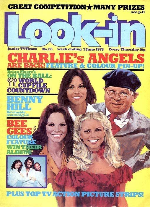 La la la la la Look-in!!! (as the advert went) Our own TV magazine.