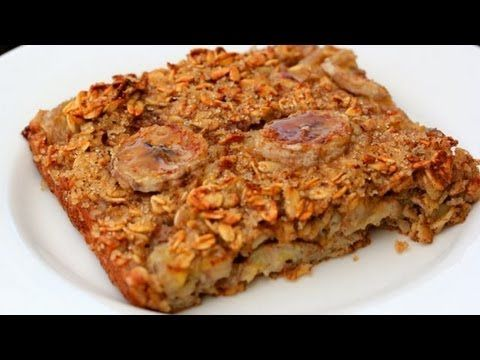 Baked Banana Oatmeal - Clean & Delicious® Recipe - YouTube