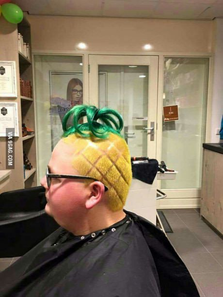 She lives in a pineapple under the sea...