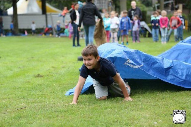 jeugdvakantiewerk Goirle 2014 - estafette race