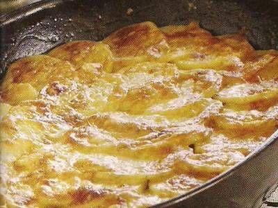 Golden Russet Potato Gratin