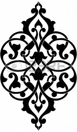 Decorative elemento di design, file vettoriali, Monocromatico photo