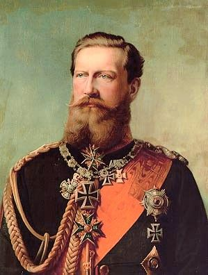 Kaiser Frederick III  German Emperor; King of Prussia  Reign	9 March – 15 June 1888  Predecessor William I, father. mother Augusta