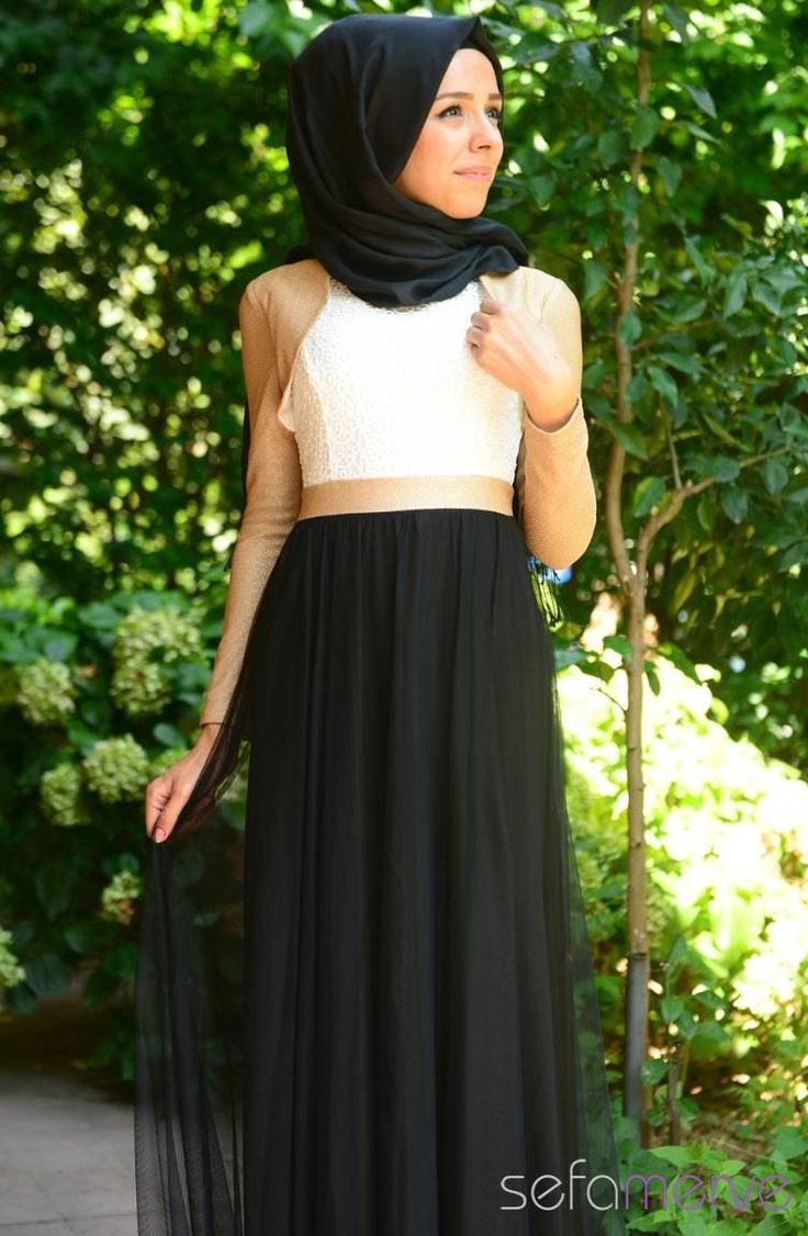Tesettür Elbise Siyah #sefamerve #tesettur #tesetturgiyim #elbise#yenisezon #2014 #Hijabdress #Hijab #newseason #tesetturelbise