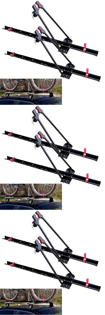 Car and Truck Racks 177849: Roof Bike Rack Upright Locking Set Carrier Dual 2 Universal System Mount Bracket -> BUY IT NOW ONLY: $84.9 on eBay!