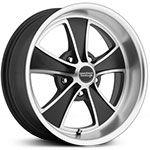 2015 American Racing Classic VN808 Satin Black Machined Wheels & Rims