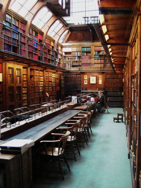Anson Reading Room, Codrington Library, All Souls College, Oxford