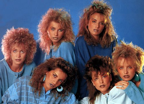 80's - everyone had or wanted a perm