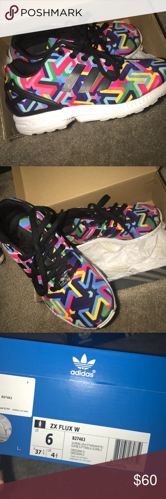 Adidas Flux EEEEEUC! Size 6, women's. Adidas Shoes Sneakers