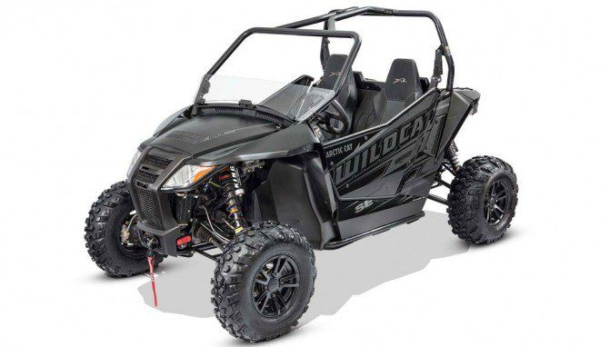 2017 Arctic Cat Wildcat Sport and Trail Special Edition Models