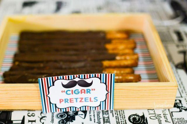 cigar - little mustache man theme