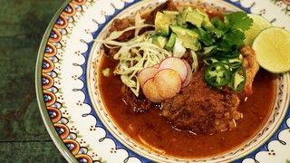 Tortilla Soup Braised Chicken Recipe | The Chew - ABC.com