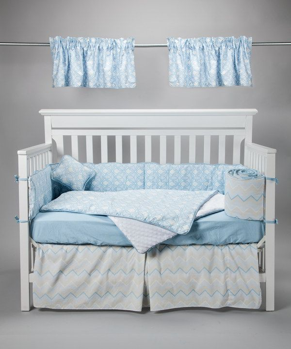 Take A Look At This Message In The Clouds Crib Bedding Set On Zulily Today
