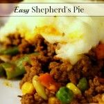 Easy Shepherd's Pie • Our Small Hours