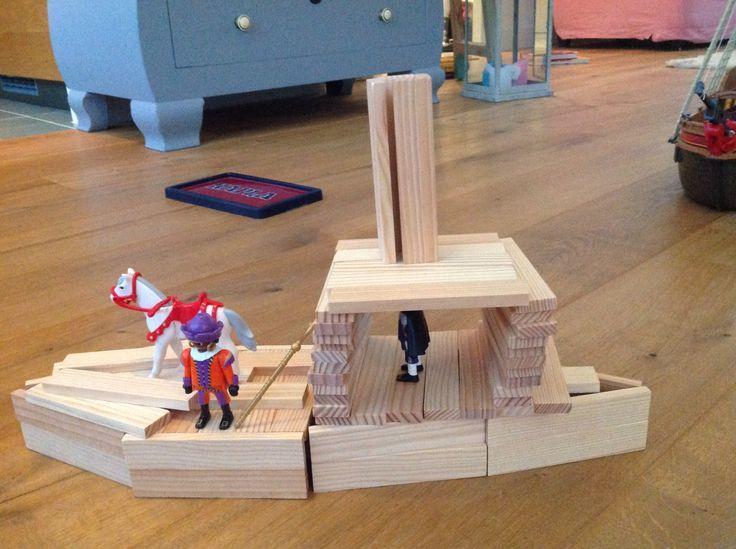 stoomboot van Sinterklaas van Kapla