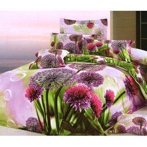 Piękna pościel z wzorem kwiatowym. #3D astry sprawią, że we własnym łóżku poczujesz się jak w ogrodzie. Pościel uszyto z tkaniny o najwyższej jakości przędz. Komplet zawiera poszwę i dwie poszewki. Całość zapakowano w eleganckie pudełko, dzięki temu pościel może być atrakcyjnym prezentem. kasandra.com.pl