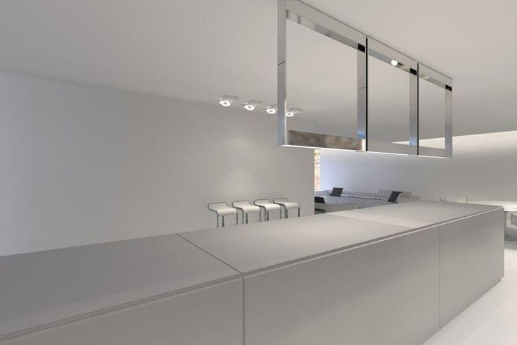Minimalist interior design by Filip Deslee ft the FD2 kitchen system _.