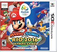 Mario, Sonic and their friends head to the ultimate training grounds for the Rio 2016 Olympic Games, the streets of Rio de Janeiro! Train with Mario or Sonic in their own stories, then test your skills in 14 events. Soar high in BMX, blaze over 110m Hurdles, perfect your swing in Golf and field a team in Brazil's favorite sport: Football (soccer)! Get in the Games by training your Mii character in Mario or Sonic gyms led by top-notch trainers, like Donkey Kong or Tails. Inspire the city w...