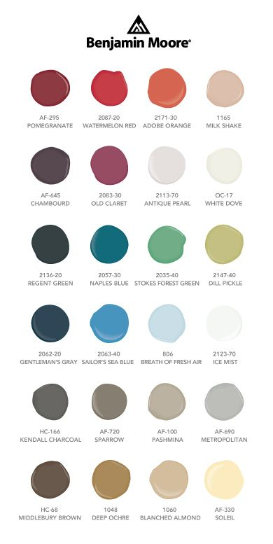 Best Paint Colors To Die For Images On Pinterest Color - Benjamin moore blue paint color chart