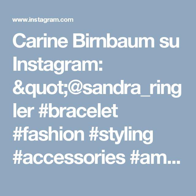 "Carine Birnbaum su Instagram: ""@sandra_ringler #bracelet #fashion #styling #accessories #amazing #beautiful #cool #seashell #handmade #jewelry ##jewellery #jeans #love…"""