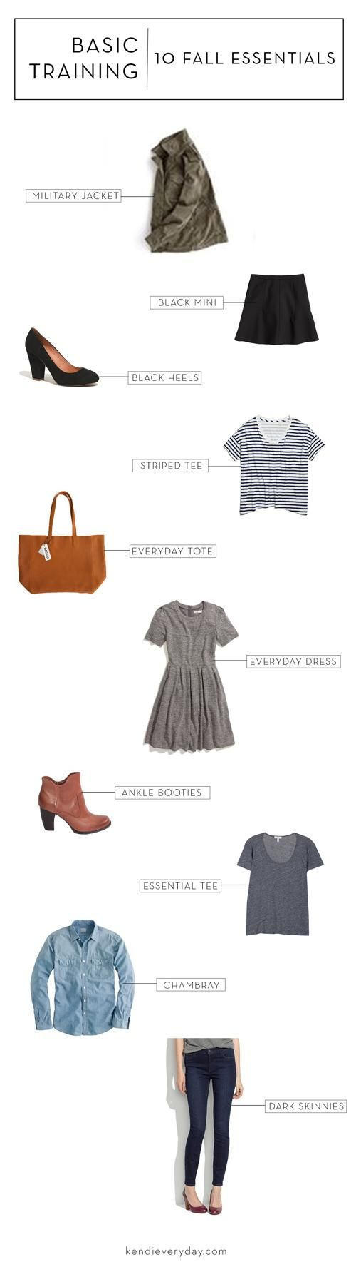 Fall Basics Everyone Needs | via Kendi Everyday