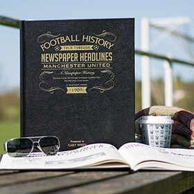 Personalised Football Team History Book Deluxe: Item number: 3324420261 Currency: GBP Price: GBP59.95