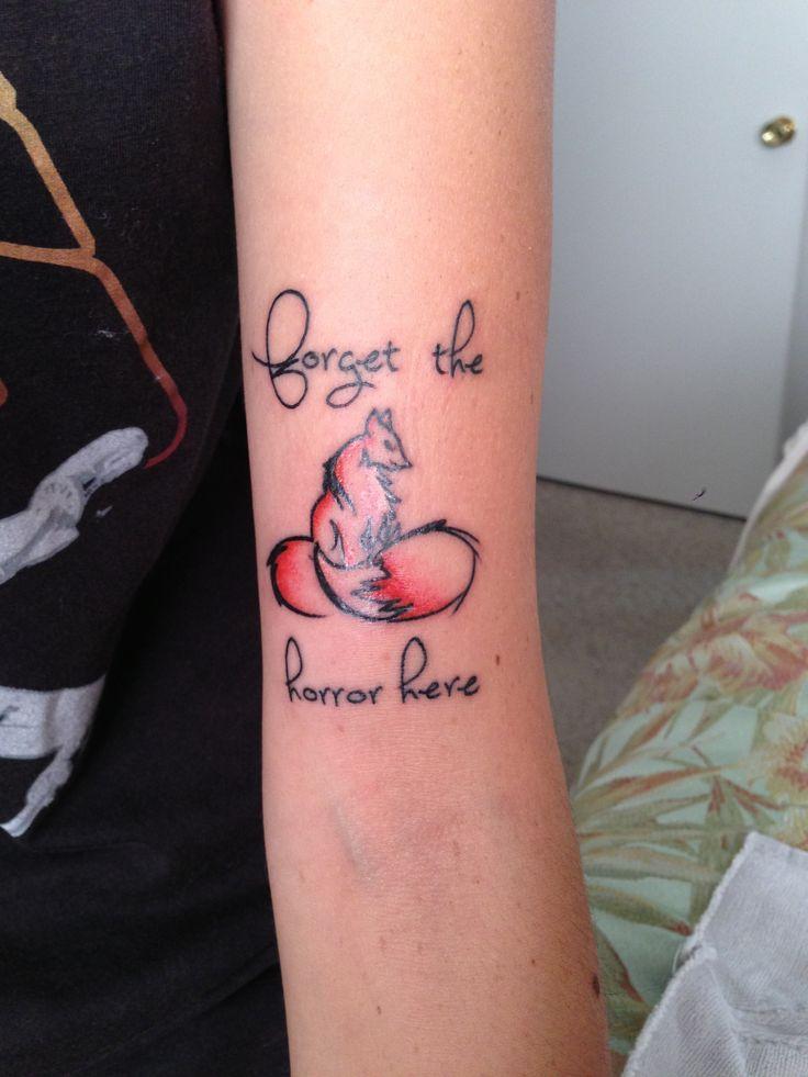 Foals Red fox tattoo Tattoo ideas Pinterest