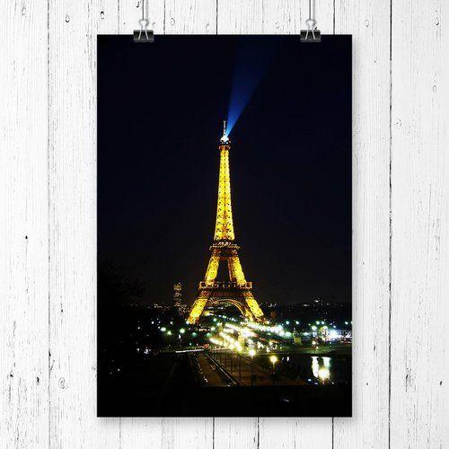 East Urban Home Eiffel tower Paris France Photographic Print