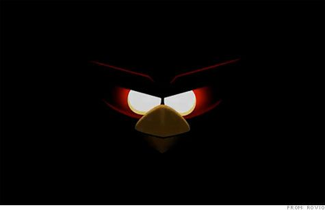 """ANGRY BIRDS IN SPACE!  """"One small fling for a bird. One quantum leap for birdkind,"""""""