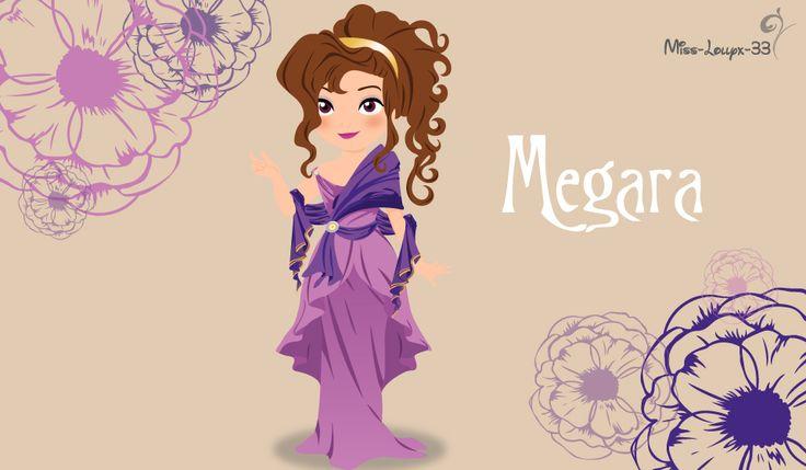 No-Disney Young Princess ~ Megara by miss-lollyx-33.deviantart.com on @DeviantArt