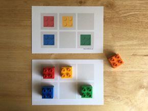 ¡Seguimos jugando con nuestros ladrillos LEGO DUPLO! Este fin de semana realizamos este juego de patrones y fue súper divertido. Le preparé a mis niños estas tarjetas con diferentespatrones representados con imágenes de ladrillos LEGO DUPLO. También preparé la misma …