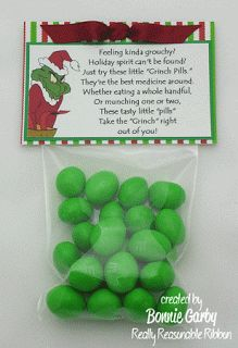 Grinch Pills And Santa Cookie Toppers Make Time 2 Craft