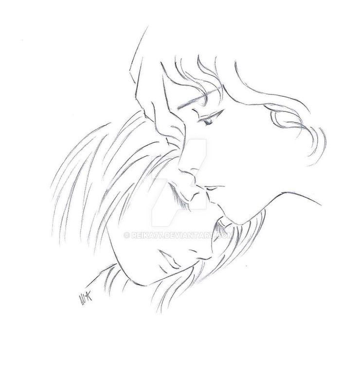Anna e Liam by Reika77.deviantart.com on @DeviantArt #drawing #fanart #manga #anime #couple #love