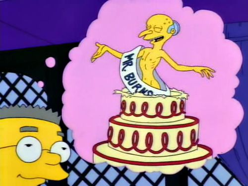 Happy birthday, Mr. Smithers